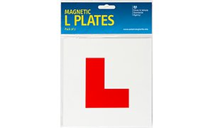 Official DVSA Magnetic L Plates