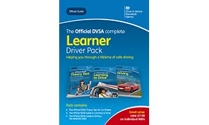 Official DVSA Complete Learner Driver Pack front cover