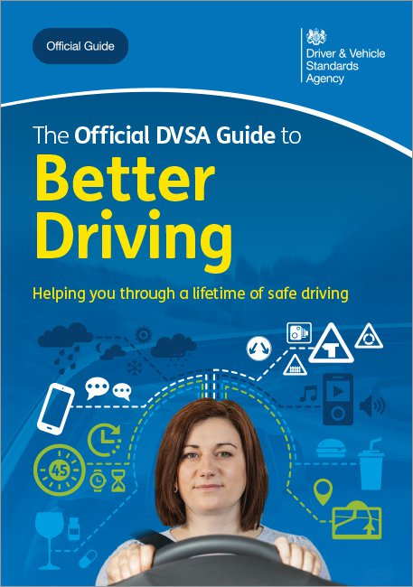 Official DVSA Guide to Better Driving front cover
