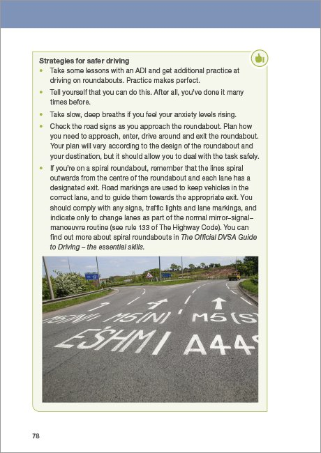 Official DVSA Guide to Better Driving page 78