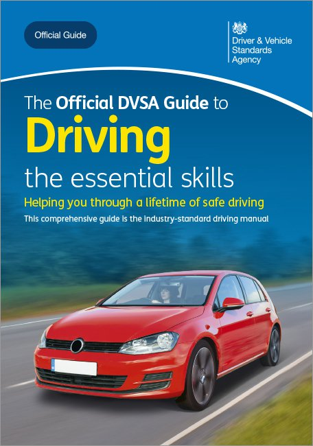 Official DVSA Guide to Driving the essential skills front cover