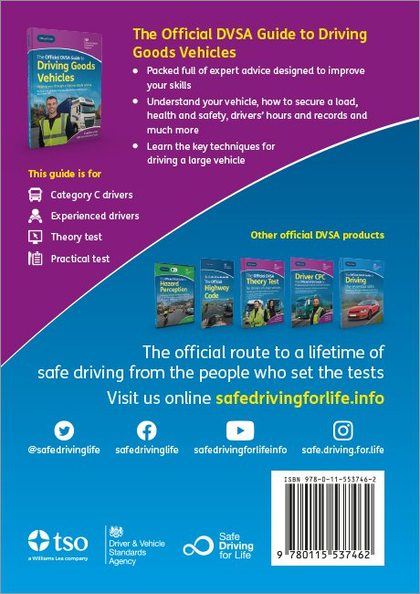 Driving Goods Vehicle back cover