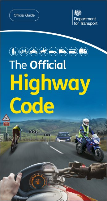 Official DVSA Highway Code front cover