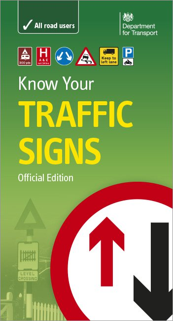 Know your Traffic Signs front cover