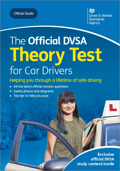 Official DVSA Theory Test for Car Drivers front cover