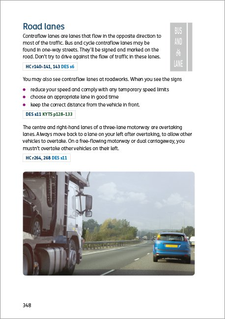 Official DVSA Theory Test for Car Drivers page 348