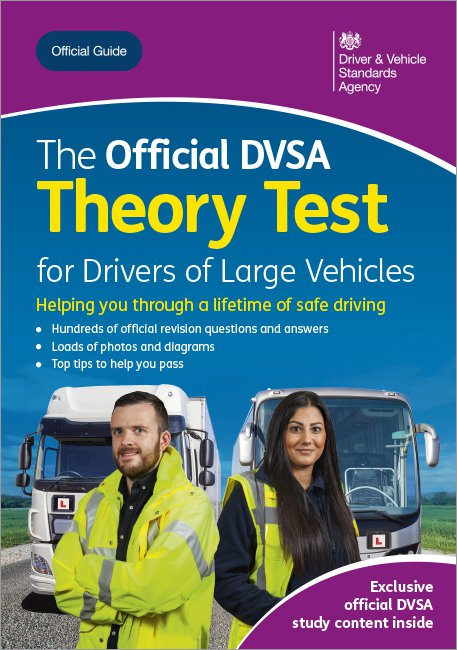 Official DVSA Theory Test for Drivers of Large Vehicles front cover
